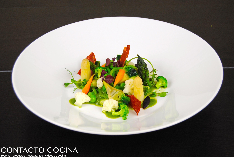 Mundo vegetal texturas y colores menestra de verduras - Menestra de verduras en texturas ...
